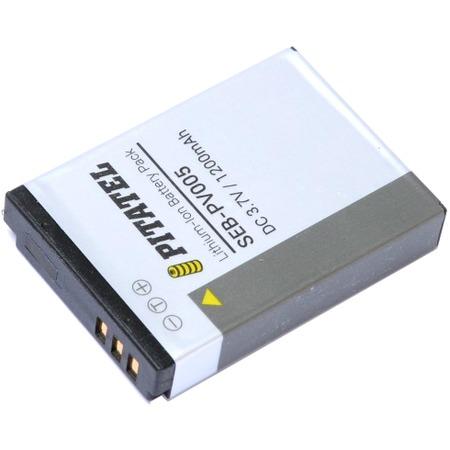 Аккумулятор для камеры Pitatel SEB-PV005 для Canon Digital IXUS 800/850/860/870, 1200mAh