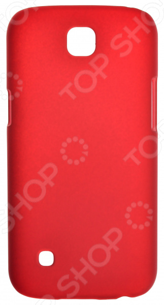 Чехол защитный skinBOX LG K3 защитный чехол с подставкой ziefly edge для телефонов lg g5 из термополиуретана и пс пластика