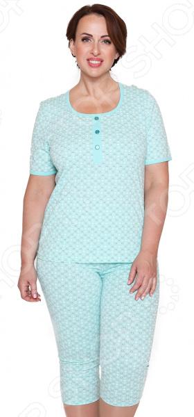 Костюм Алтекс «Семейные традиции». Цвет: зеленый пижамы diadora домашний костюм