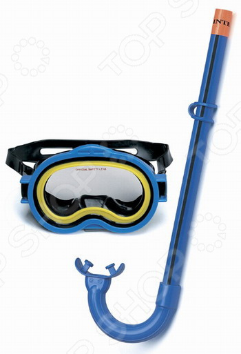 Набор для плавания: маска и трубка Intex «Приключения»