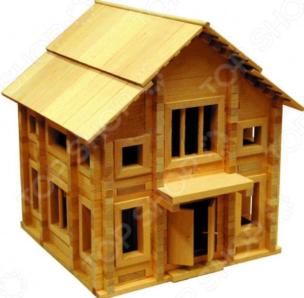 Конструктор деревянный Теремок « 4»