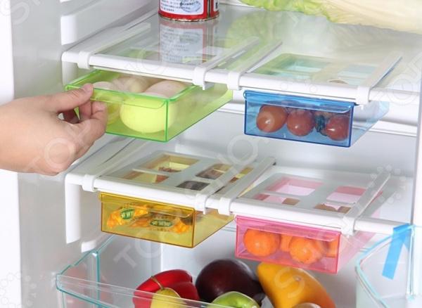 Лоток для холодильника навесной Multipurpose Shelving. В ассортименте