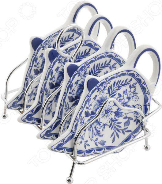Набор подставок для чайных пакетиков Patricia «Флер»