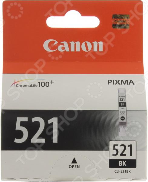 Картридж струйный Canon CLI-521 картридж canon pgi 520bk для pixma ip3600 ip4600 mp540 mp620 mp630 mp980 черный двойная упаковка