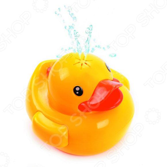 Игрушка для ванны детская Жирафики со светом и звуками «Утенок-фонтан» музыкальная игрушка жирафики грибок со светом