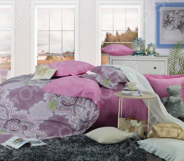 Комплект постельного белья La Noche Del Amor А-587 комплект белья la noche del amor евро наволочки 70х70 цвет сиреневый голубой зеленый а 652 200 240 70