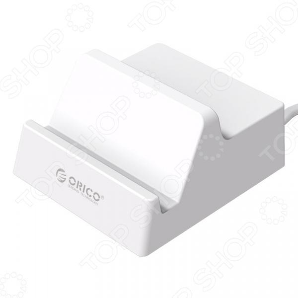 Устройство зарядное для сетевого оборудования Orico CHK-4U представлено 4 USB-портами вы можете заряжать одновременно до 4 устройств, что очень удобно! Это могут быть мобильные телефоны или планшеты, фото- и видеотехника, электронные книги.  Эта модель не только практична, но и обладает эргономичным дизайном. Она займет минимум места на рабочем столе, дополнительно в устройстве предусмотрена подставка для телефонов и планшетов. Вставьте гаджет в углубление и наслаждайтесь просмотром фильмов под удобным углом в 60 .  Технические характеристики  Входной коннектор сетевая вилка.  Напряжение на входе 100-240 В. Устройство универсальное, его можно применять в любых странах мира.  Выходной коннектор USB 2.0 тип A разъем . Количество 4.  Показатели на выходе для каждого порта составляют 5В 4 А.  Максимальная выходная мощность 20 Вт.  Количество заряжаемых аккумуляторов 4.  Система защиты от высокого низкого напряжения, короткого замыкания и перегрева.