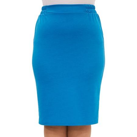 Купить Юбка Laura Amatti «Венера». Цвет: голубой