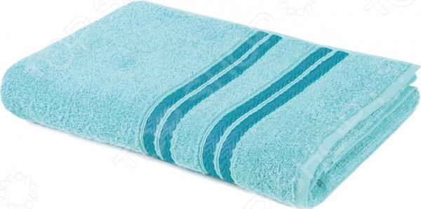 Полотенце махровое Aquarelle «Адриатика». Цвет: бирюзовый