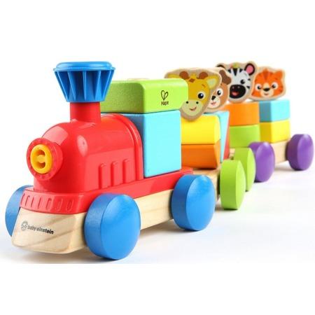 Купить Игрушка развивающая для малыша Hape «Поезд Приключений»