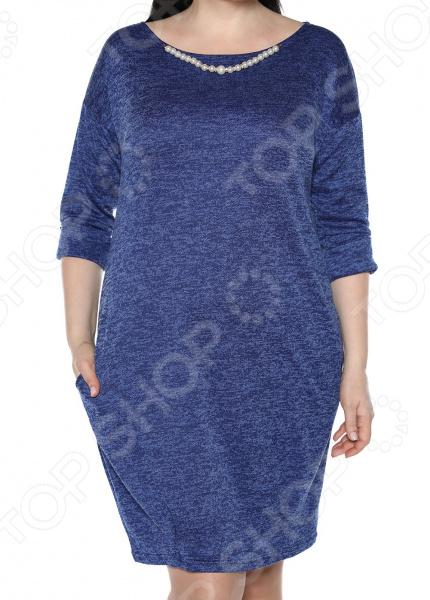 Платье Jenks «Жемчужная романтика». Цвет: электрик платья jenks платье