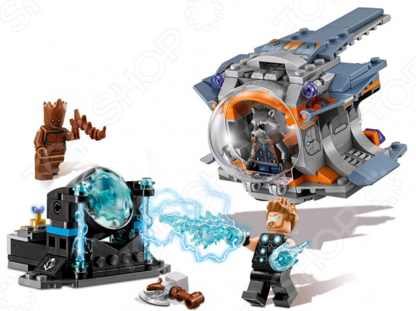 Конструктор игровой LEGO Super Heroes «В поисках оружия Тора»