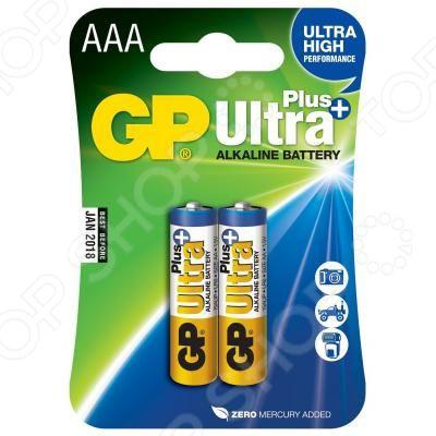 Набор батареек GP Batteries Ultra Plus GP24AUP-2CR2 батарейки gp ultra plus 15aup 2cr2 aa 2 шт