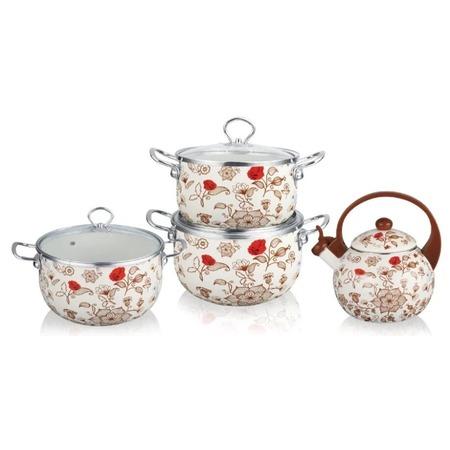 Купить Набор посуды Kelli KL-4458 «Розы»