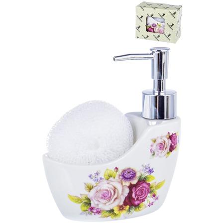 Купить Диспенсер-подставка для жидкого мыла и губки Guterwahl Party Time 05043