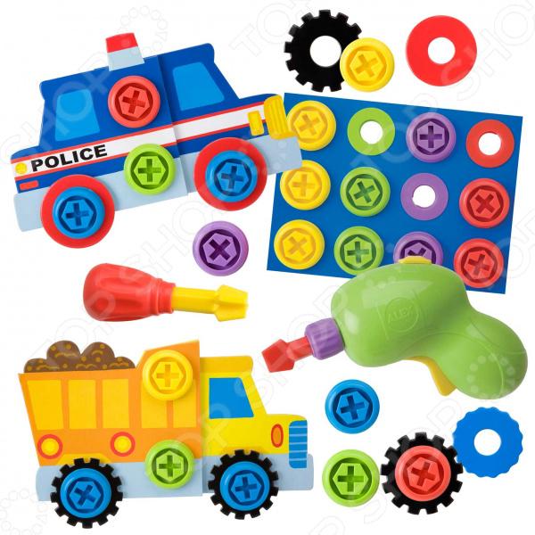 Игровой набор для ребенка Alex «Автомастерская»