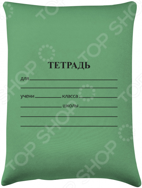 Подушка детская антистрессовая Рыжий кот «Тетрадь» DP-03-N