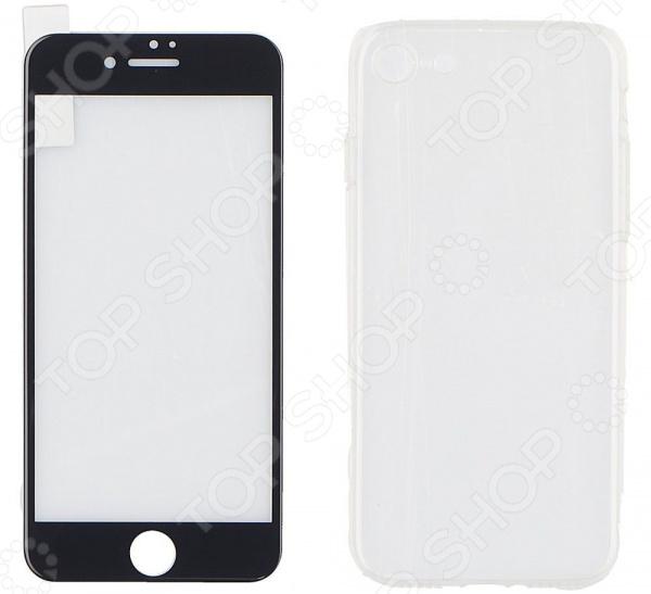 Стекло защитное REMAX Apple iPhone 7 чехлы для телефонов remax чехол силиконовый apple iphone 7 4 7 remax waves синий
