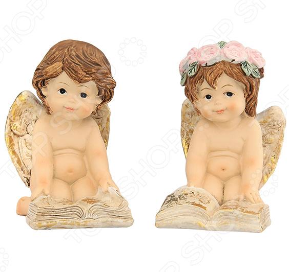 Набор декоративных фигурок Elan Gallery «Ангелочки с книгой»