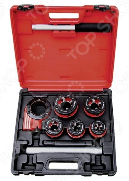 Набор клуппов MATRIX 77332 набор трубных плашек santool 4 штуки плашкодержатель с трещоткой 032115 004