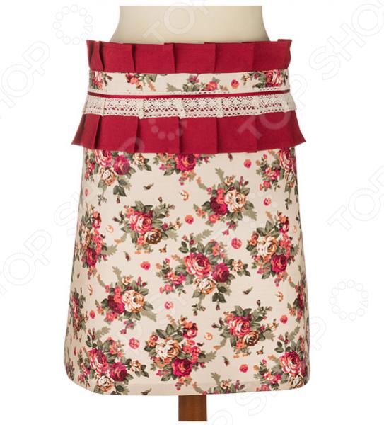 Фартук Santalino «Розовый сад» 850-833-7 сидушка на стул santalino райский сад 850 832 5