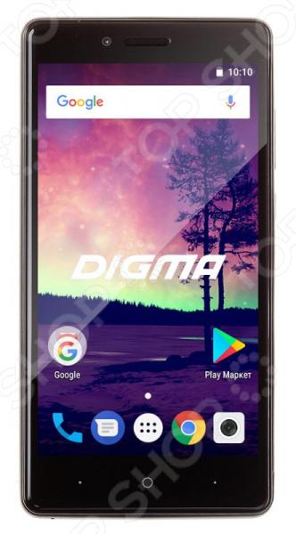 Смартфон Digma VOX S509 3G 16Gb смартфон digma vox g500 3g 8gb черный vs5027mg