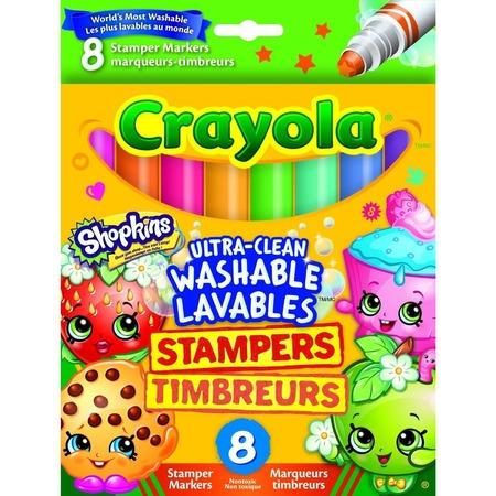 Набор фломастеров-штампиков Crayola «Шопкинс»
