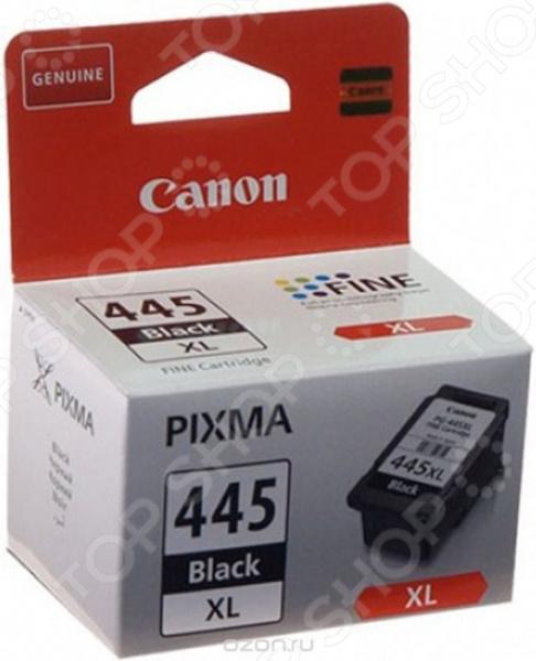 Картридж струйный Canon PG-445XL картридж canon pg 445xl черный [8282b001]
