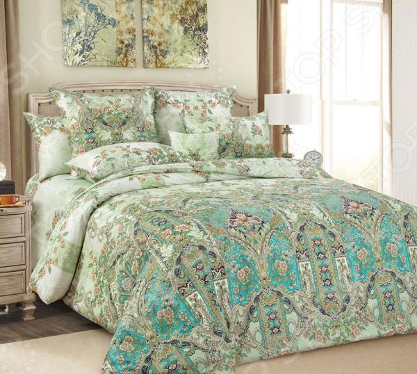 цена Комплект постельного белья Королевское Искушение «Совершенство». Тип ткани: сатин онлайн в 2017 году