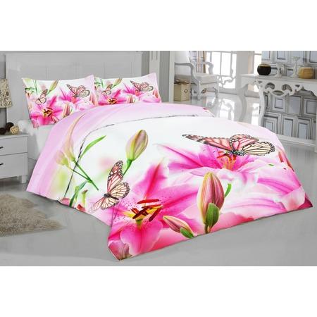 Купить Комплект постельного белья ТамиТекс «Лилии»