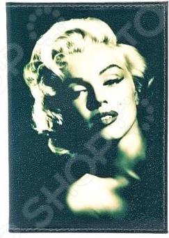 Обложка для автодокументов кожаная Mitya Veselkov «Монро на черном» обложка для автодокументов кожаная mitya veselkov одри загадочная на черном