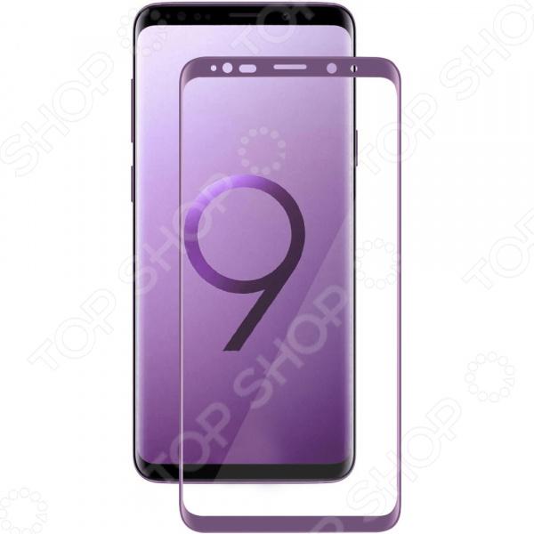 Стекло защитное 3D Media Gadget для Samsung Galaxy S9 стекло защитное 3d media gadget полноклеевое для samsung galaxy s9 plus