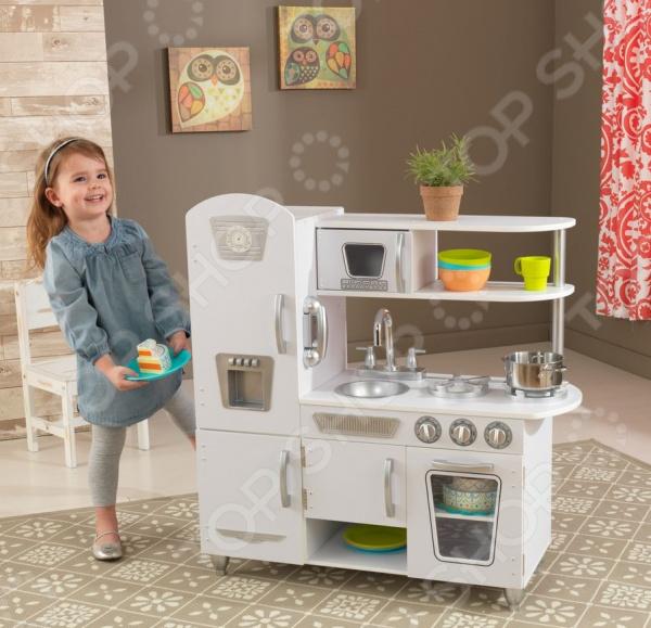 Кухня детская KidKraft «Винтаж» детская кухня kidkraft детская игрушечная кухня из дерева винтаж подарочная упаковка