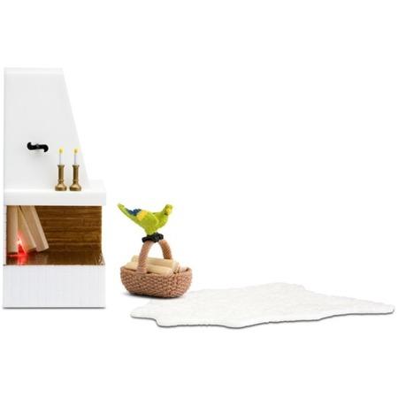 Купить Мебель для куклы Lundby «Смоланд. Камин с декором»