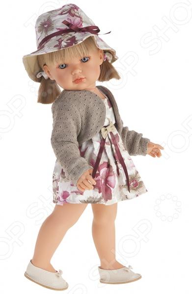 Кукла Munecas Antonio Juan «Белла блондинка в шляпке» кукла интерактивная munecas antonio juan каталина блондинка