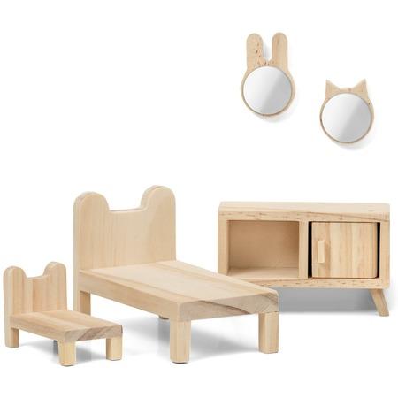 Купить Набор мебели для куклы Lundby «Сделай сам. Спальня»