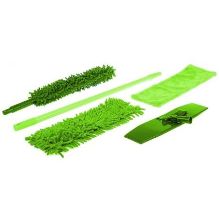 Купить Набор для уборки: швабра с насадками и щетка Bradex TD-0558