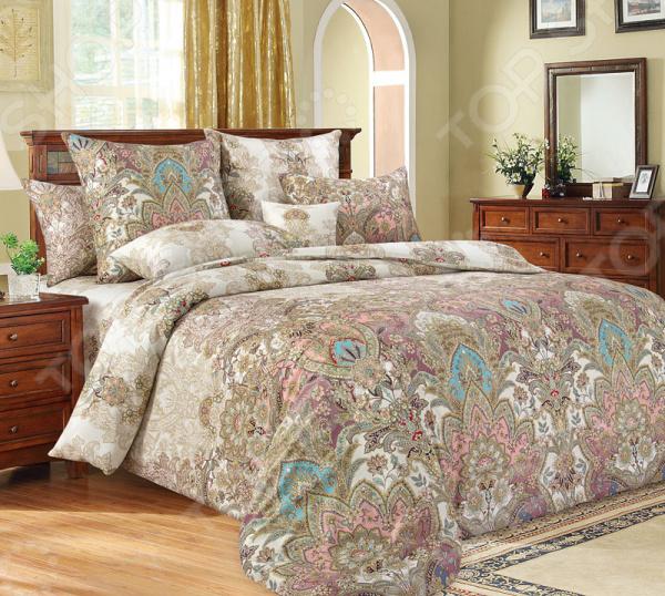 Комплект постельного белья Королевское Искушение «Великолепие». 1,5-спальный