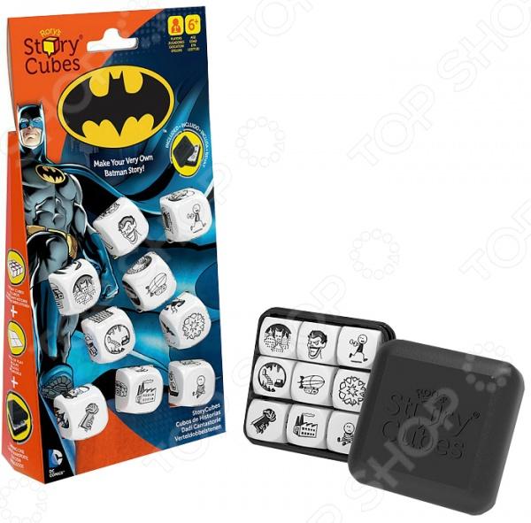 Игра настольная обучающая Rory's Story Cubes «Кубики историй. Бэтмен» story cubes кубики историй животные