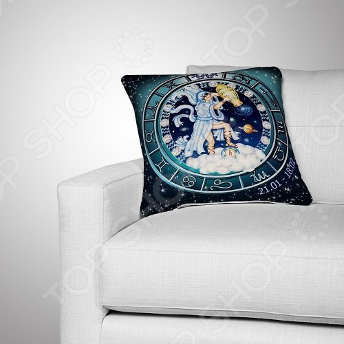 Подушка декоративная МарТекс «Водолей»