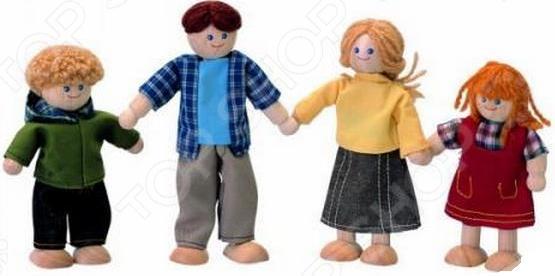 Набор кукол Plan Toys «Кукольная семья»
