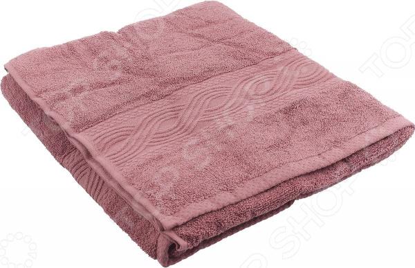 Полотенце махровое Унисон «Анкона». Цвет: темно-розовый унисон постельное белье 2 0 домани сатин унисон