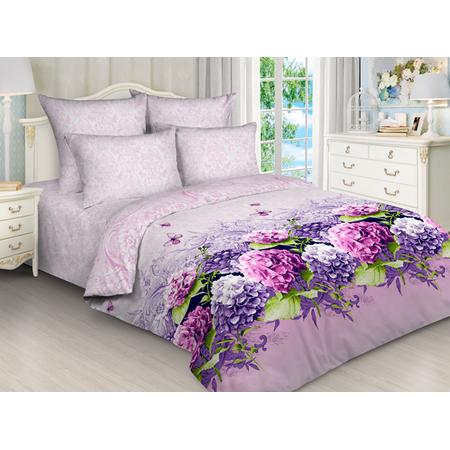 Купить Комплект постельного белья «Цветочный рай». Евро. Цвет: сиреневый