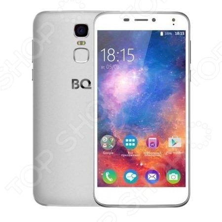 Смартфон BQ BQS-5520 Mercury станет незаменимым помощником в развлечениях, общении, интернет серфинге и учебе. Оснащен четырехъядерным процессором MT6737 с тактовой частотой 1,3 ГГц и 2 Гб оперативной памяти, что обеспечивает хорошую производительность при работе с различными приложениями.  Основные преимущества BQ Mercury  Работает на базе операционной системы Android 6.0 Marshmallow.  Дисплей 5,5 с матрицей IPS и разрешением HD 720p отличается четким изображением и насыщенными цветами.  Закаленное стекло с эффектом 2.5D дает дополнительную прочность экрану.  Сканер отпечатка пальцев на задней крышке для безопасности ваших данных.  Батарея емкостью 3650 мАч обеспечивает продолжительную работу гаджета. Это один из самых мощных аккумуляторов в линейке BQ.  В арсенале BQ Mercury основная камера на 13 МП и фронтальная на 8 МП, позволяющие делать снимки высокого качества.  Поддержка двух Sim-карт.