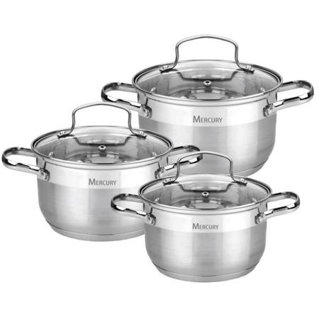 Купить Набор посуды Mercury MC-6023