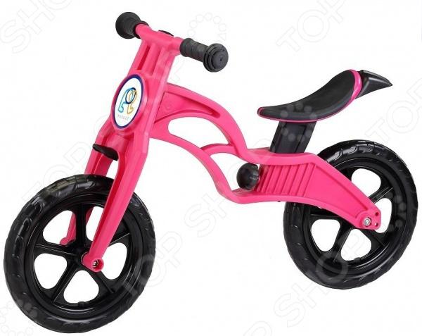 Беговел с бескамерными колесами Pop Bike Sprint Беговел с бескамерными колесами Pop Bike SM-300-1 /Ярко-розовый