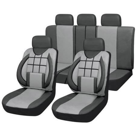 Купить Набор чехлов для сидений SKYWAY Protect 2 «Квадраты»