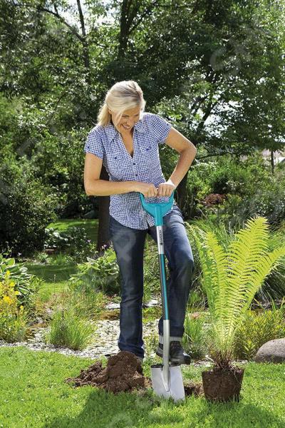 Лопата садовая Gardena Terraline 3772 цена
