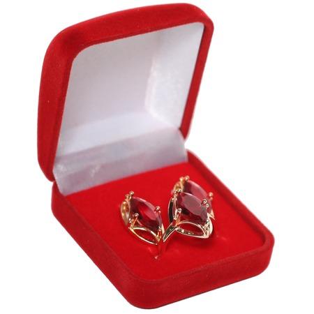 Купить Подарочный комплект украшений «Золотой век». Цвет: рубиновый