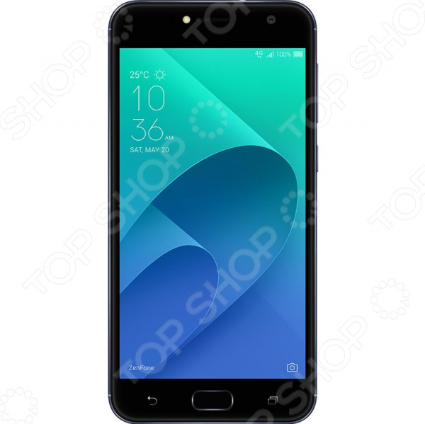 Смартфон Asus ZenFone Live ZB553KL 16 Gb аксессуар защитная пленка asus zenfone live zb553kl luxcase суперпрозрачная 55823